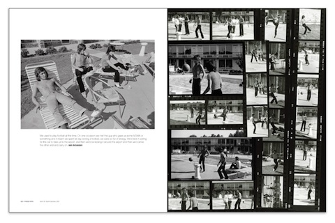 Pages from the new limited edition book, FACES 1969-75