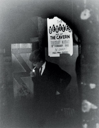 George Harrison at the Caven Club, Liverpool 1963