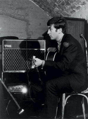 John Lennon at the Cavern, 1963, by Michael Ward