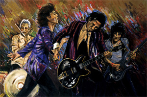 Ronnie Wood: The Famous Flames Suite