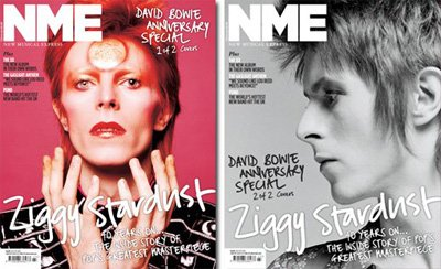 David Bowie, NME cover photo