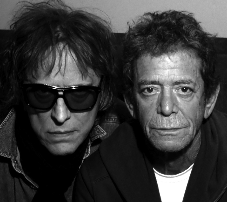Mick Rock and Lou Reed, 2013