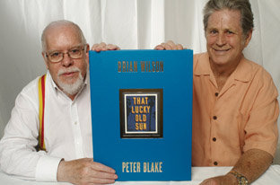 Peter Blake, Brian Wilson and That Lucky Old Sun