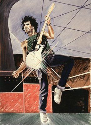 New Ronnie Wood Artist Book And Print Set