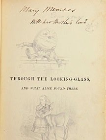 Rare books on sale: Alice's Looking Glass