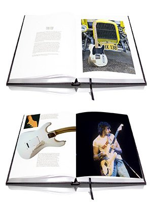 In his recent interview with Rock Cellar magazine, Jeff Beck reveals the process that has led to his new book, BECK 01, with Genesis Publications.