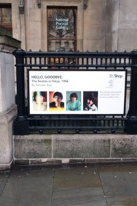 Hello, Goodbye: The Beatles in Tokyo, 1966 is now on display in the National Portrait Gallery bookshop.
