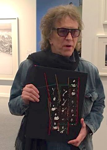 On Thursday 30th March legendary rock photographer, Mick Rock, joined the Genesis stand at The Photography Show hosted by AIPAD.