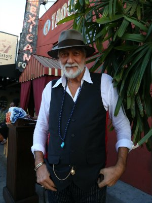 Mick Fleetwood returned to the historic El Carmen restaurant in Los Angeles last month, to be photographed by Henry Diltz for the upcoming Genesis publication.