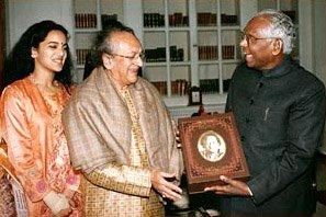 Ravi Shankar Receives Knighthood