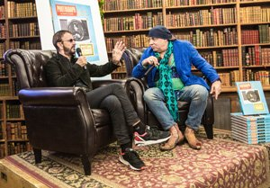 Steven Van Zandt interviewed Ringo Starr at New York's Strand Bookstore last night, 26th October. Genesis author Bob Gruen was also in attendance at this intimate event of 200 guests.