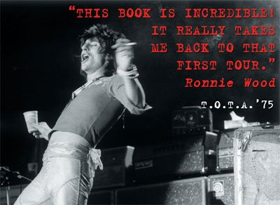 Ronnie Wood: His Thoughts On TOTA '75!