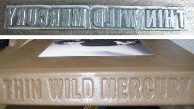Binding Thin Wild Mercury - Touching Dylan's Edge