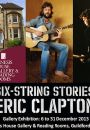 New Eric Clapton Exhibition At Genesis