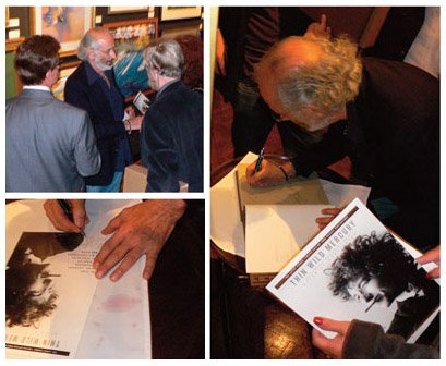 Dylan By Schatzberg, New York Book Signing