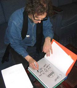 Mick Rock Signing At Genesis