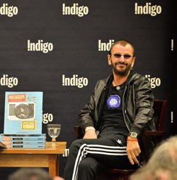 Ringo Starr entertained 250 readers in Toronto on Tuesday. Click to share your memories of The Beatles in Canada.