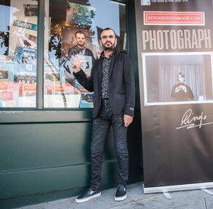 Ringo Starr met with global press at Hollywood's Book Soup on Wednesday to discuss the new Open Edition of his PHOTOGRAPH book.
