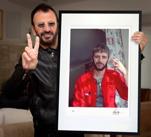 This September, London's National Portrait Gallery will be unveiling the new prints in Ringo Starr's PHOTOGRAPH Portfolio.