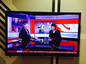 Ronnie Wood appeared on BBC News and The One Show to talk about his 1965 Rock 'n' Roll Diary.