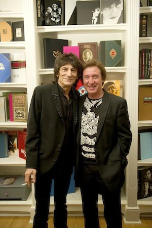 Ronnie Wood and Kenney Jones visit Genesis for book unveiling