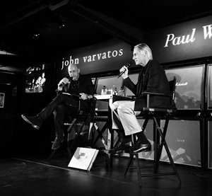 Paul Weller joined John Varvatos in conversation at his London store last night.