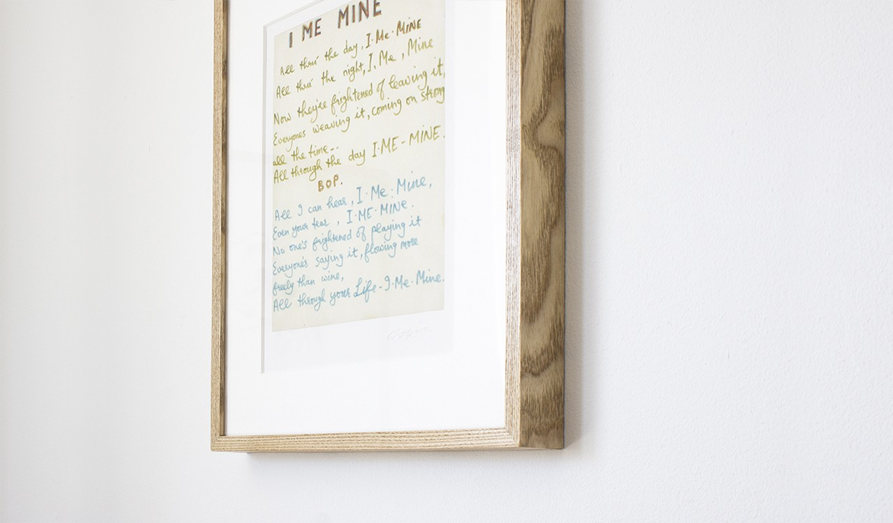 The Open Edition Lyric Print image 2