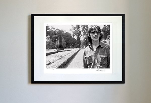 George Harrison in the Gardens of Cliveden House