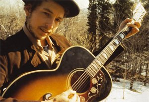 Dylan In Woodstock Copyright Elliott Landy