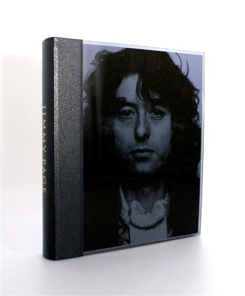 Jimmy Page's new leather & perpex bound book