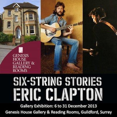 New Eric Clapton Exhibition At Genesis
