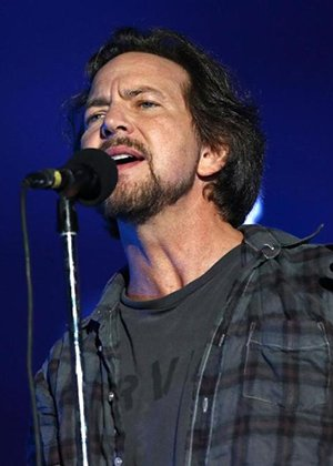 Eddie Vedder at the Hammersmith Apollo