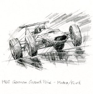 Drawing Inspiration From Jackie Stewart