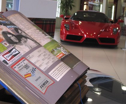 Ferrari celebrates Jackie Stewart's COLLAGE