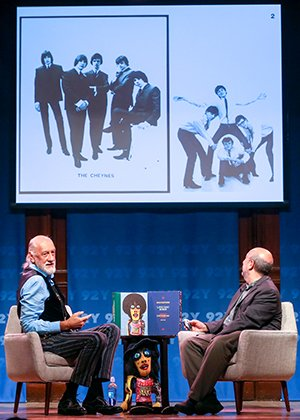 Mick Fleetwood With Anthony DeCurtis At 92Y