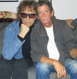 Celebrate with Lou Reed and Mick Rock