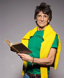 Ronnie Wood Reader Event