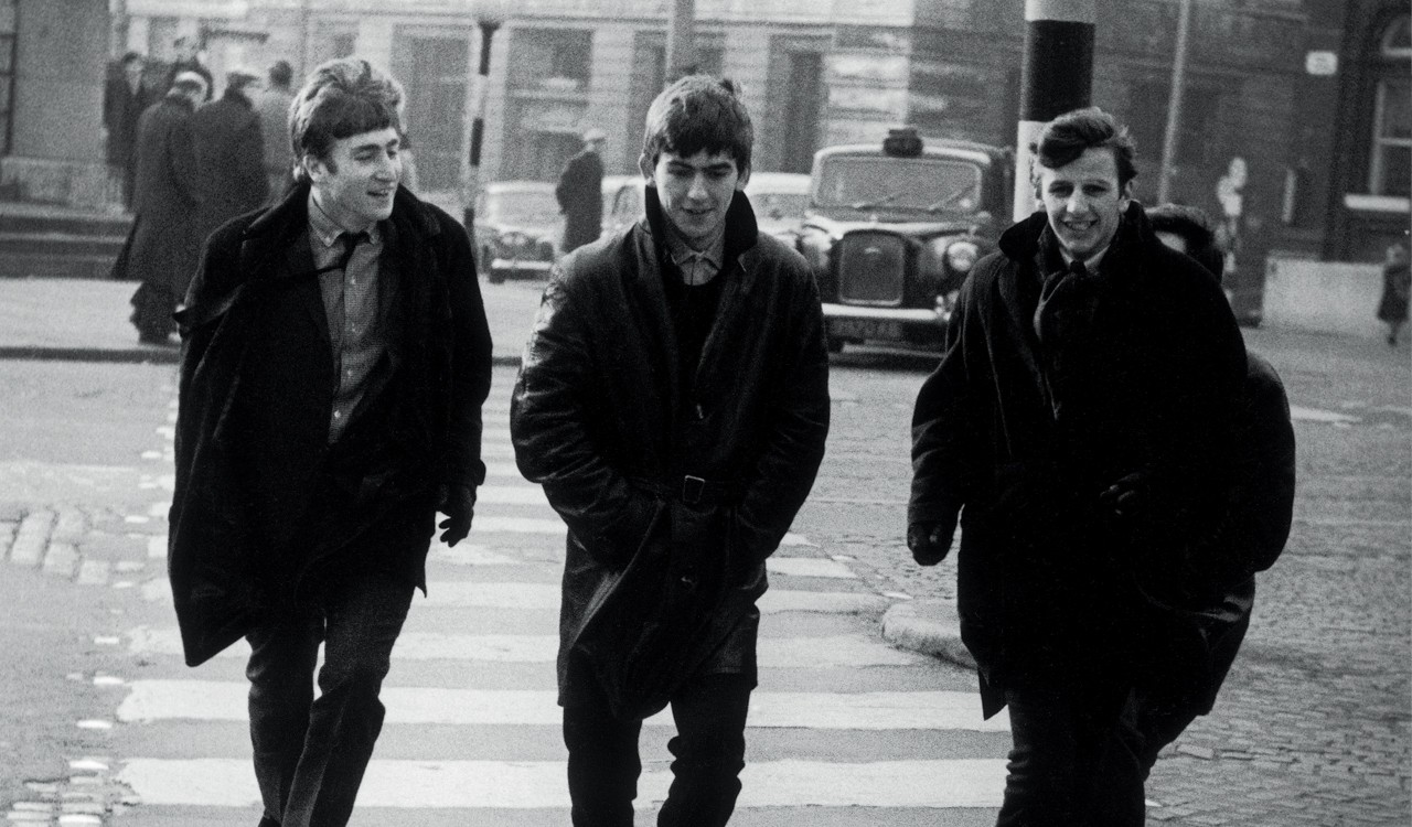The Beatles in Liverpool, February 1963