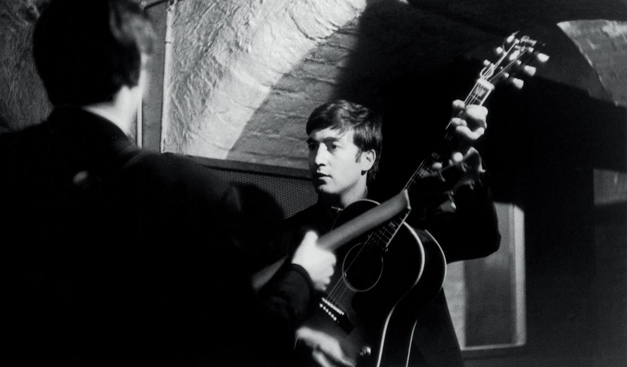 John Lennon in the Cavern Club, Liverpool, 1963