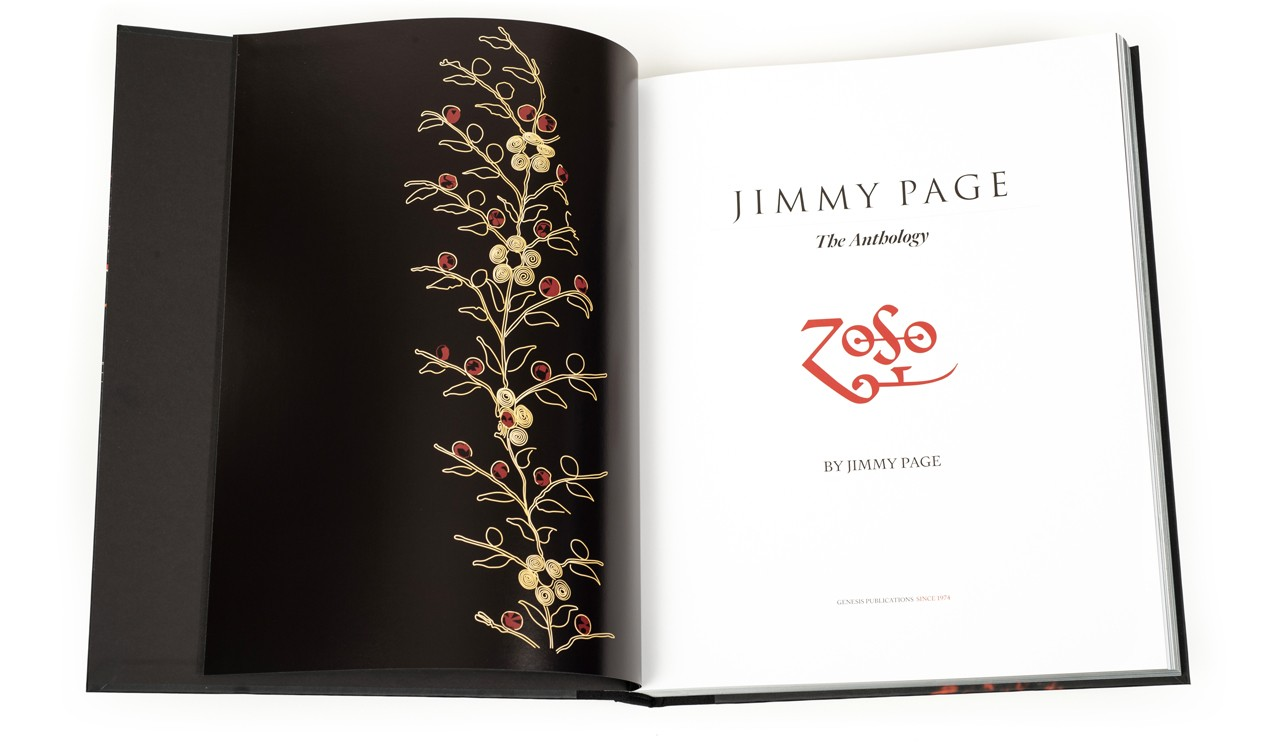 Jimmy Page: The Anthology, title page