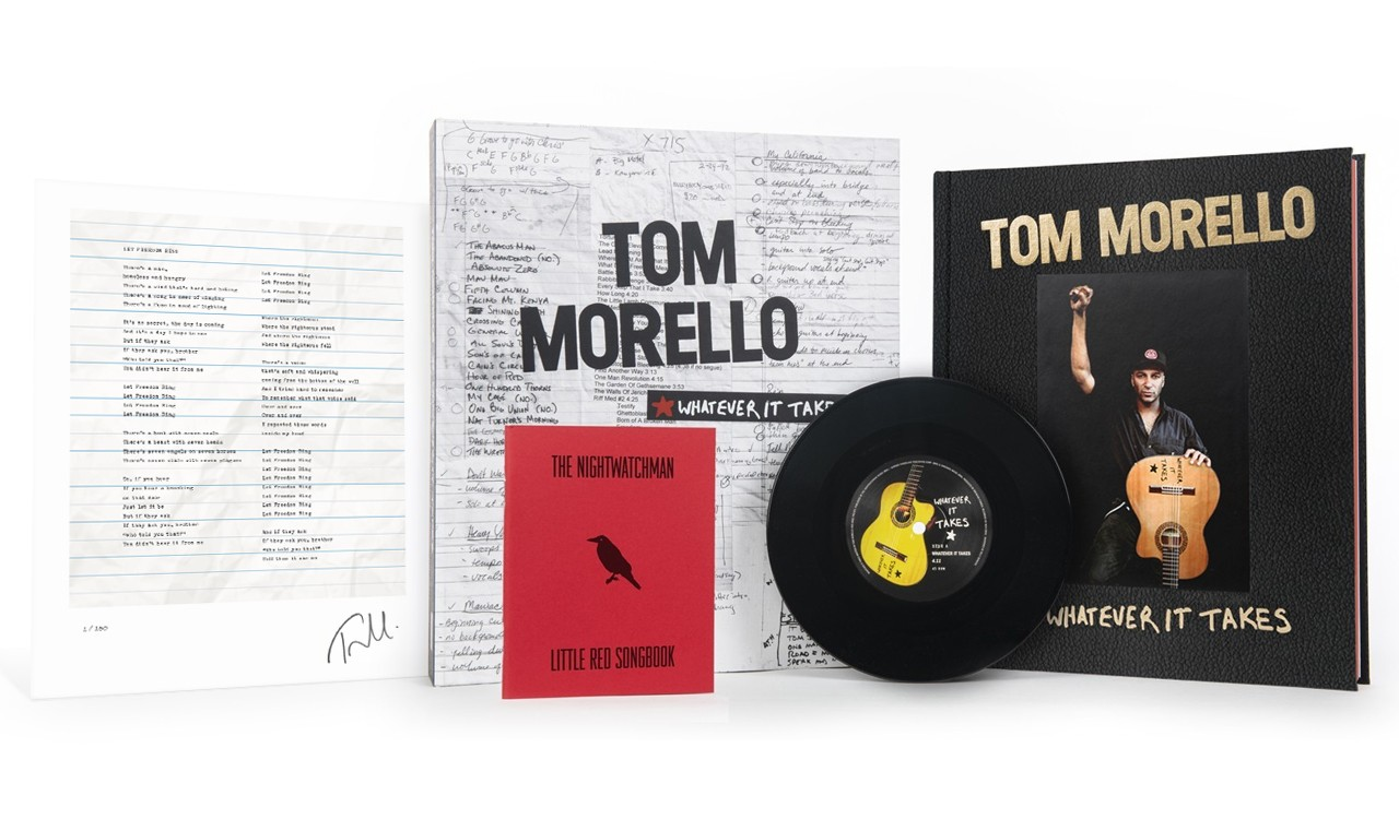Tom Morello Deluxe Limited Edition Book and Record Boxed Set