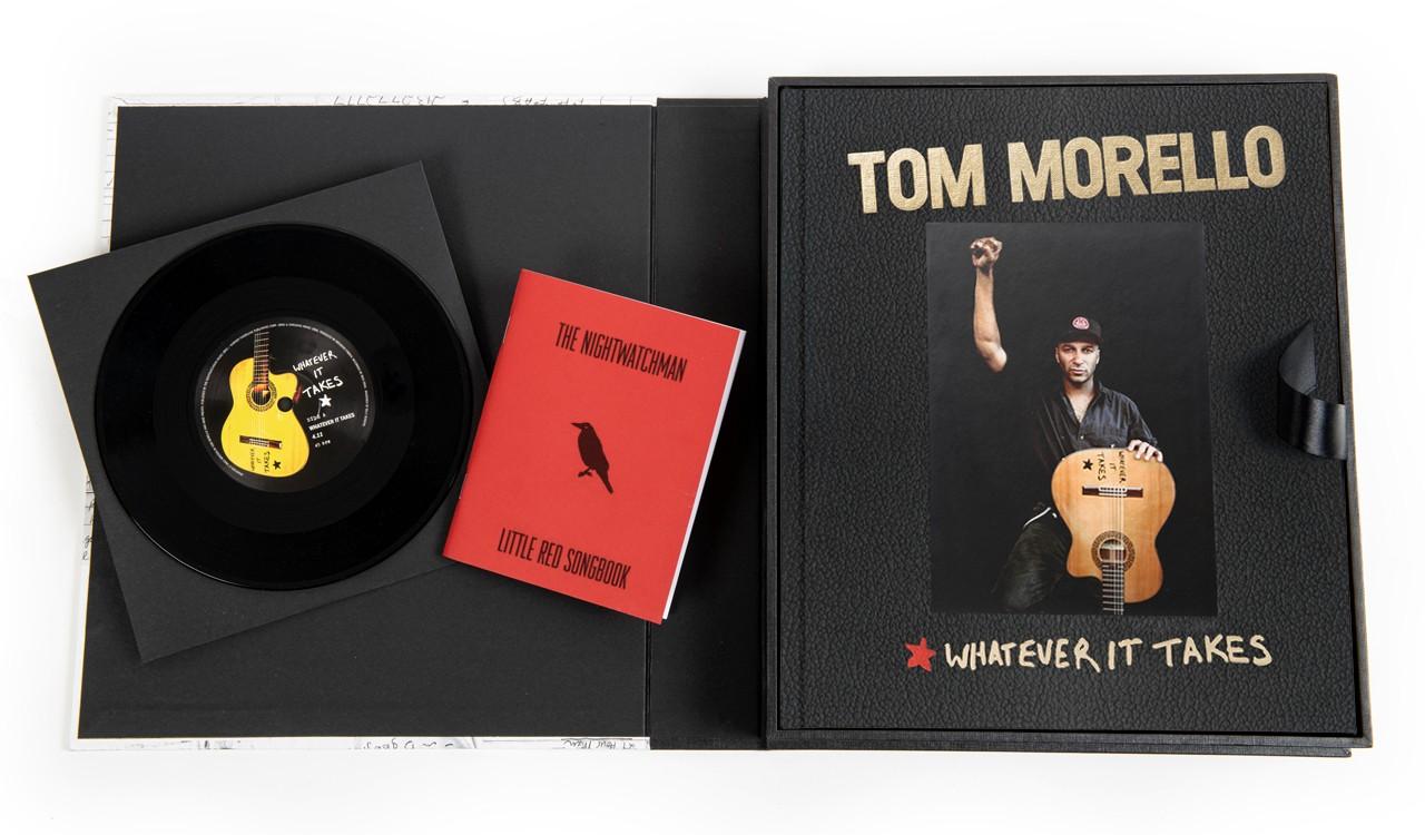 Tom Morello Deluxe Boxed Set Open