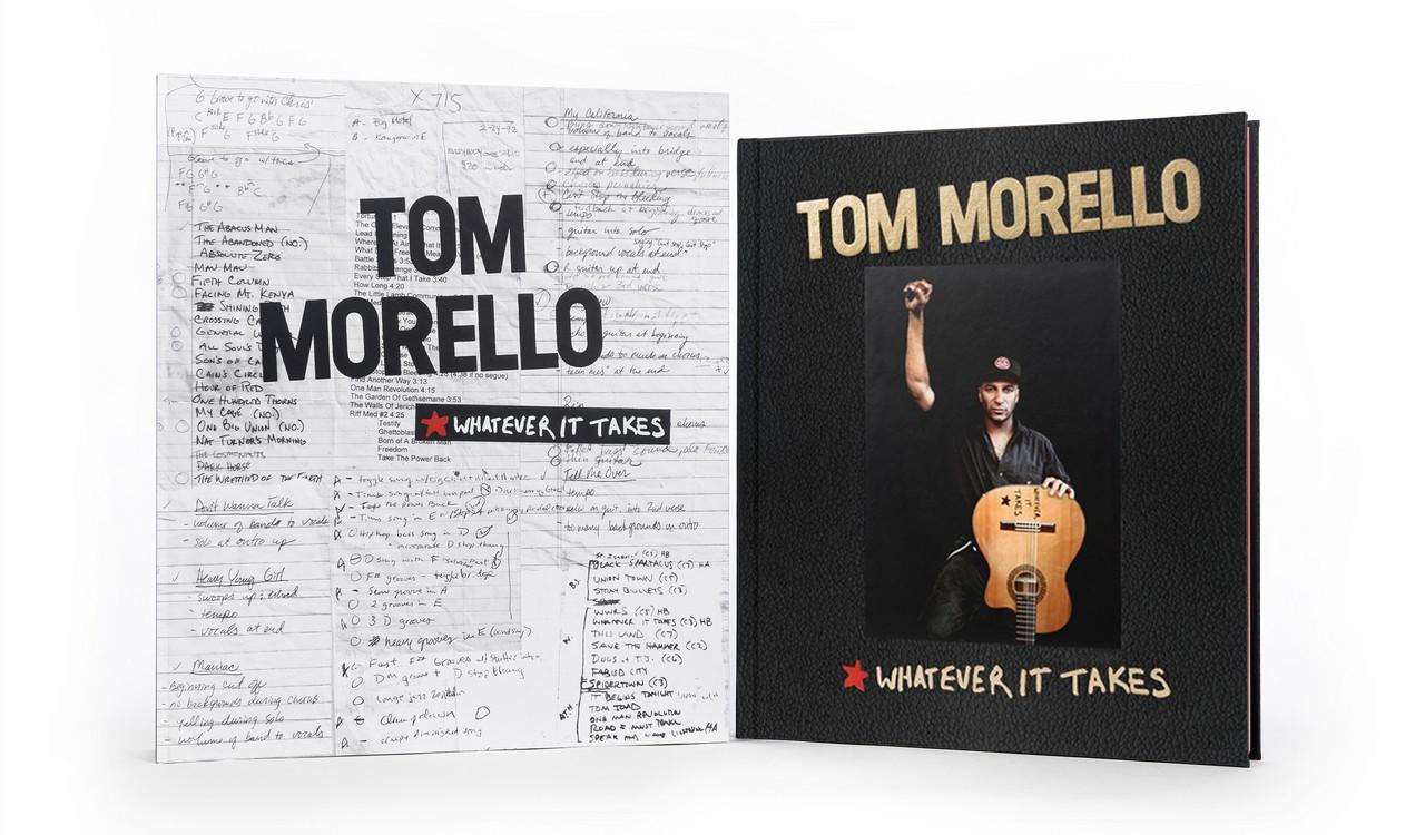 ToM Morello Deluxe Book and Solander Box