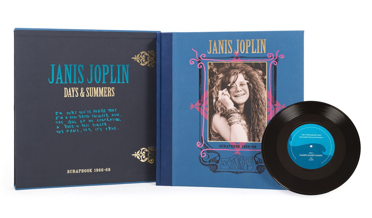 Janis Joplin: Days & Summers Book and Record Set