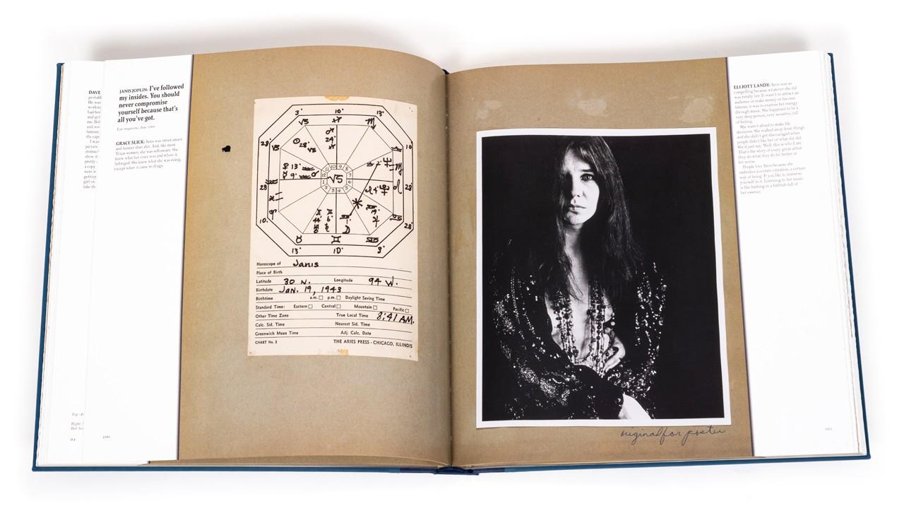 Janis Joplin's astrological chart