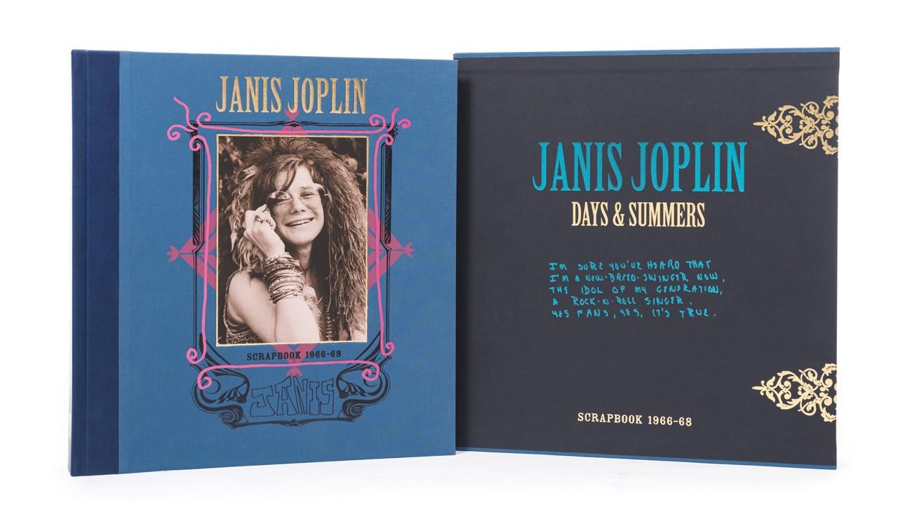 Janis Joplin Days and Summers Book Binding