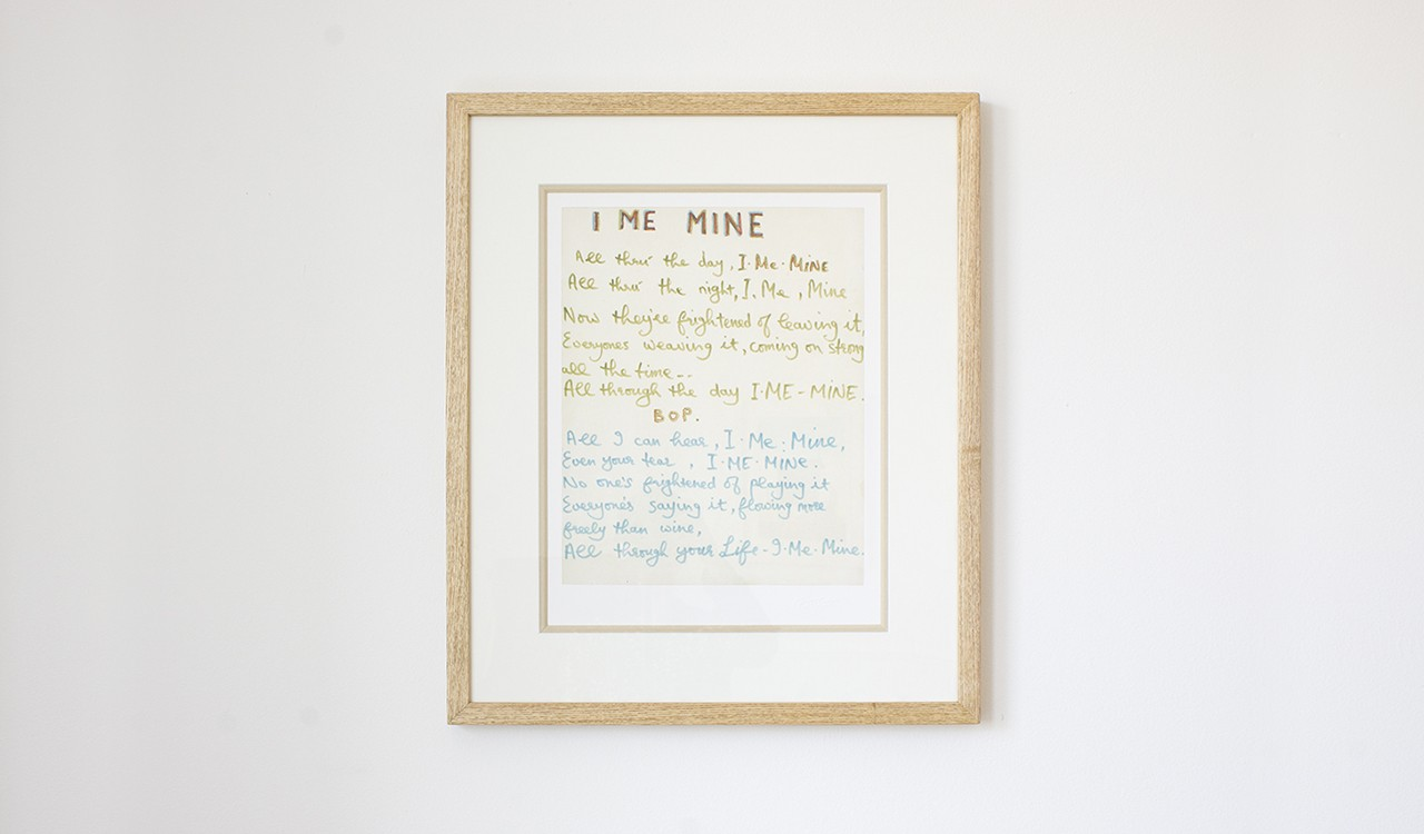 The Limited Edition Lyric Print image 1